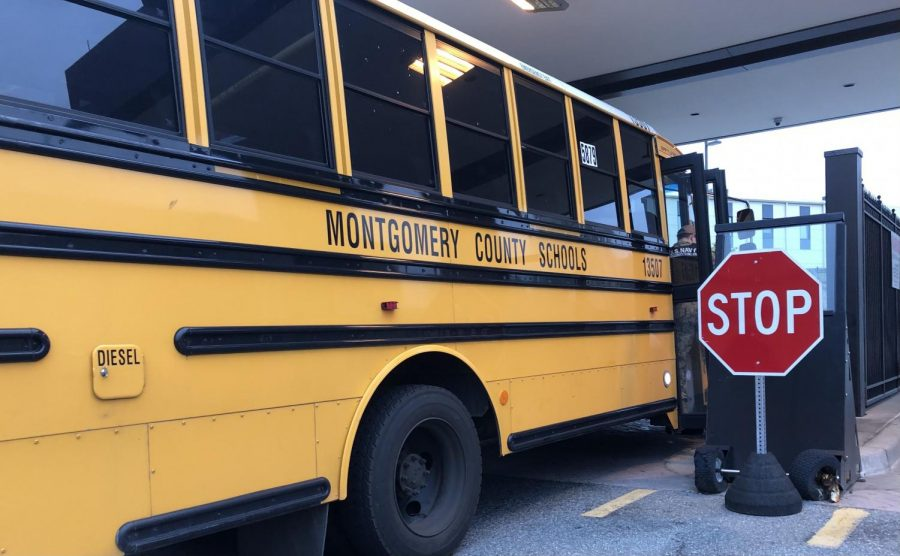 MCPS is aiming to have the entire bus fleet converted to electric by 2035.