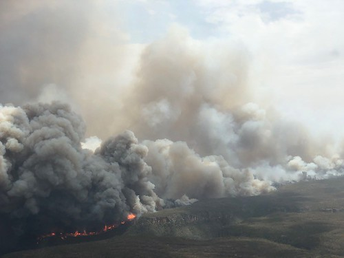 Australian Wildfires spread across the country.