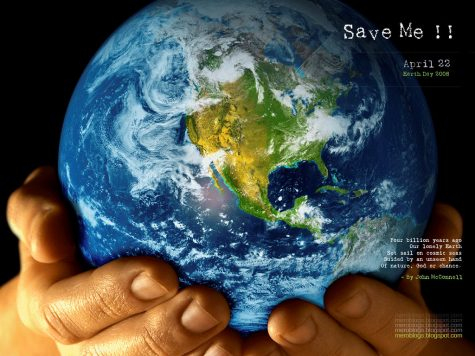 "This graphic was made for Earth Day in 2008. The slogan ""Save Me"" remains popular today"