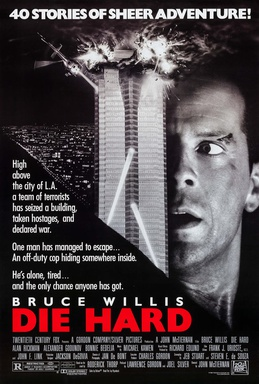 Official 1988 poster for Die Hard.