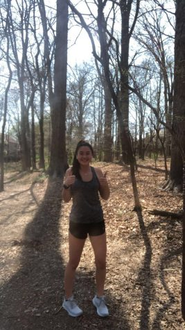 Senior Erin Chang goes on a run to prepare for her first half-marathon.