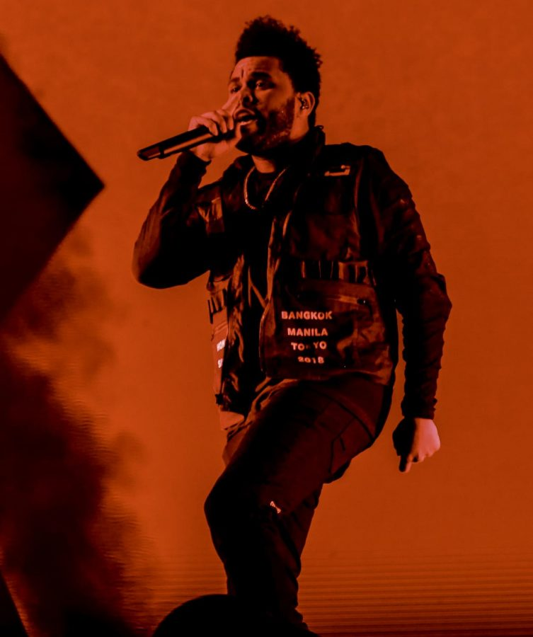 The Weeknd performs live. His debut mixtape, entitled 'House of Balloons,' has recently been rereleased as the original form of the album for its 10th anniversary.