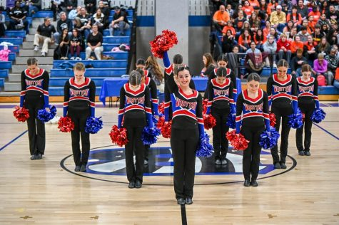 Poms competing on Jan. 18, 2020.