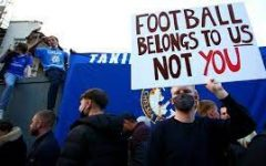 Football fans in Europe protested wildly against the Super League and the agenda of the club owners.