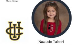 Senior Nazanin Taheri committed to UC Irvine based on its location.