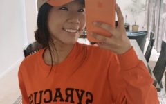 Senior Helena Hong will be attending Syracuse University in the fall.
