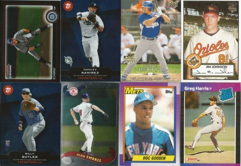 The average sports card collection of a baseball superfan.