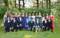 A group of seniors came together to make a make-shift prom on May 15.