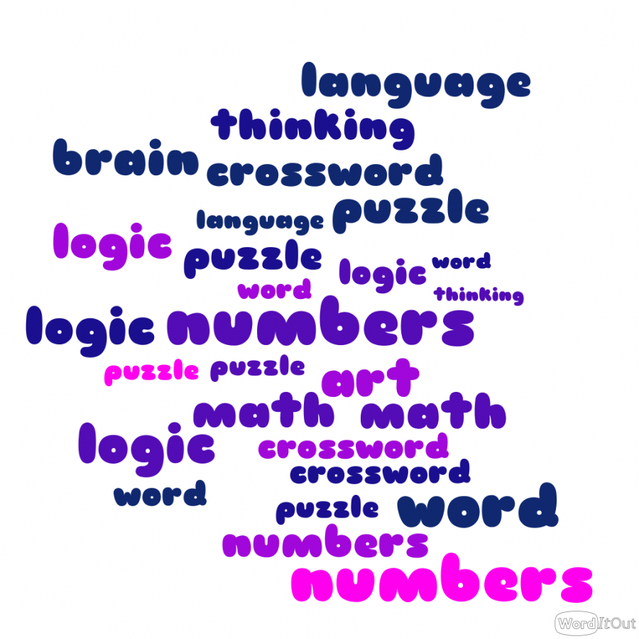 Puzzles exist in different types and require different skills depending on the puzzle.