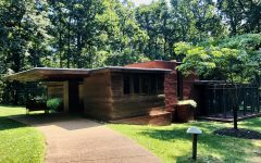 Commissioned in 1939 and completed in 1940, the Pope-Leighey House is one of only 60 Usonian houses constructed by Wright.  It is encouraged that our readers experience the true beauty of this location for themselves.