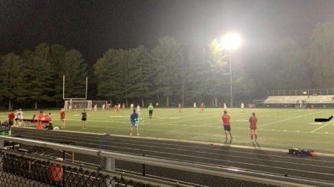 The girls soccer team takes on Quince Orchard on Sept. 16. Senior Natalie Matikyan scored the winning goal in overtime.