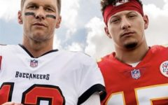 The EA Sports cover for Madden 22 showcases athletes Tom Brady and Patrick Mahomes.