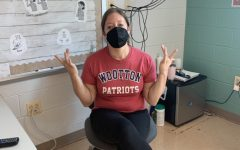 """ASL teacher Lea Clark signs """"what's up?"""" in American Sign Language."""