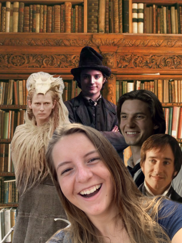 The White Witch, Artful Dodger, Dorian Gray and Mr. Darcey join Anna in her book nook to review H. G. Parrys book.