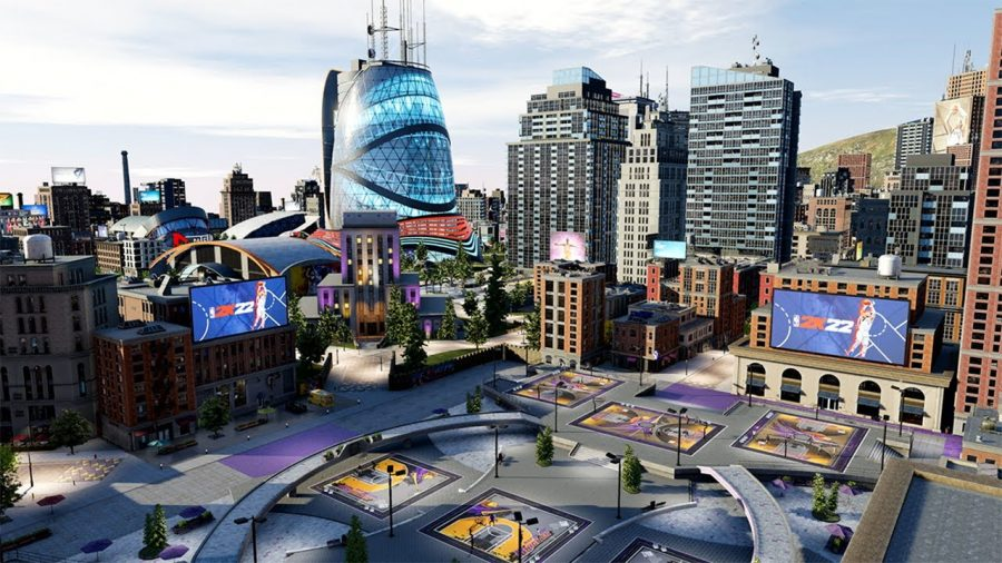 Players compete in games and participate in other quests in the new game city.