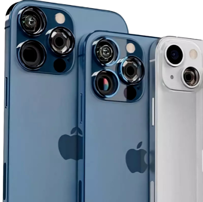 The iPhone 13 comes in different colors like sierra blue and silver.
